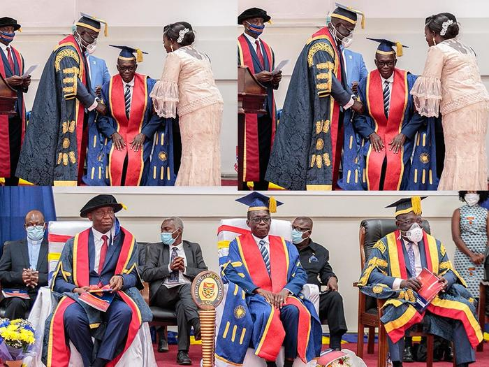 Investiture of Vice-Chancellor and Registrar