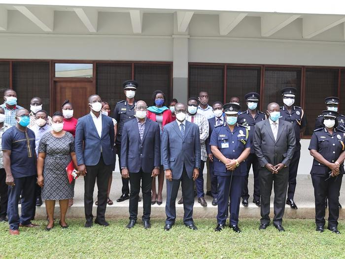 Management of UCC and Ghana Police Service