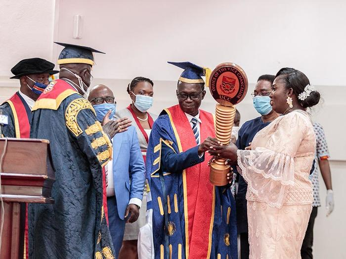Prof. Boampong taking the leadership mantle